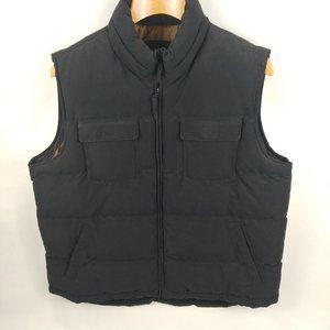 St. John's Bay Black Puffer Vest Size XL